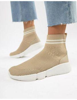 Bershka Sock Sneaker by Bershka