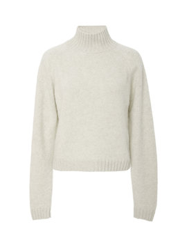 Highland Cropped Cashmere Turtleneck Sweater by The Elder Statesman