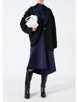 Luxe Tuxedo Oversized Blazer by Tibi