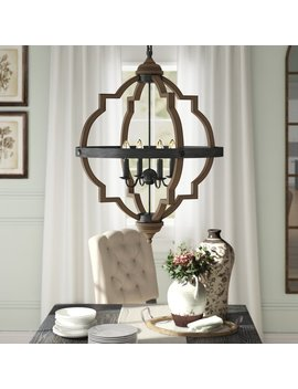 Birch Lane™ Basilio 4 Light Candle Style Chandelier & Reviews by Birch Lane™