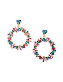 Amara Cluster Hoop Earrings by Gorjana
