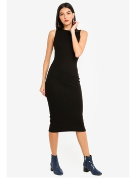 Sleeveless Bodycon Midi Dress by Missguided