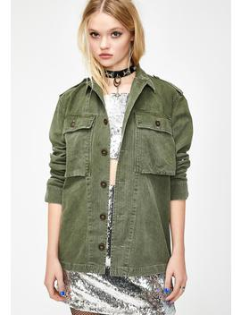 Lovestruck Army Jacket by Current Mood