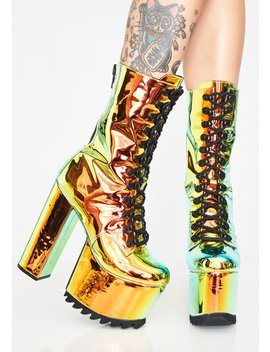 Space Stone Nola Boots by Club Exx