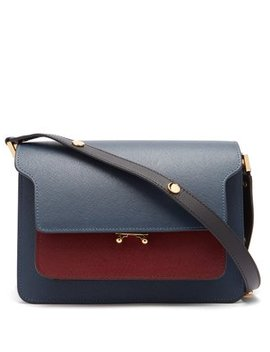Trunk Medium Leather Bag by Marni