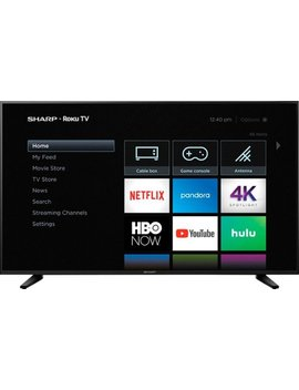 "58"" Class   Led   2160p   Smart   4 K Uhd Tv With Hdr   Roku Tv by Sharp"