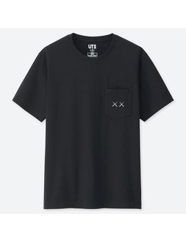 Men Kaws X Sesame Street Graphic T Shirt by Uniqlo