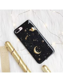 For Huawei Mate 20 10 Pro P20 Cute Planet Bling Giltter Soft Rubber I Phone Case by Unbranded/Generic