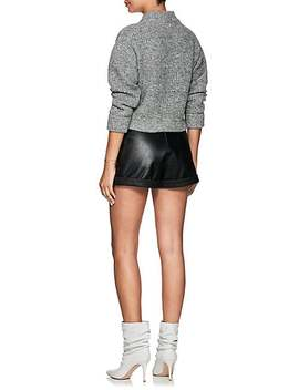 Wool Cashmere Crop Sweater by Philosophy Di Lorenzo Serafini