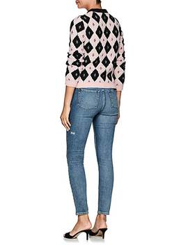 Marquee Diamond Pattern Sweater by Philosophy Di Lorenzo Serafini