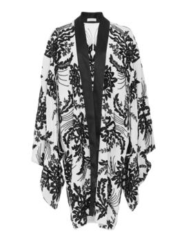 Silk Kimono Jacket by Naeem Khan