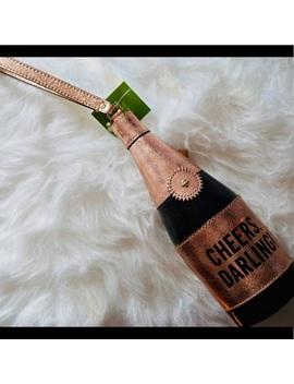 Kate Spade Champagne Bottle Clutch/WristletNwt by Kate Spade