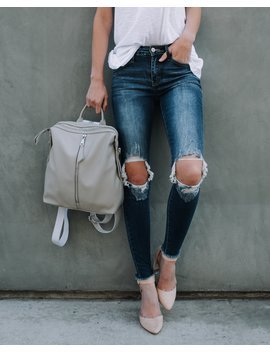 Roxanna Distressed Skinny by Vici