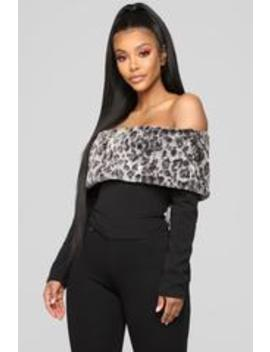 Soho Off Shoulder Top   Black by Fashion Nova