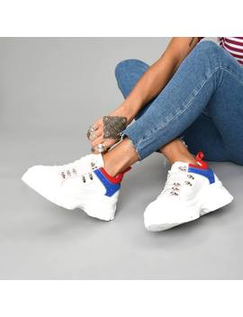 The Knights Multicoloured Trainers by Koi Footwear