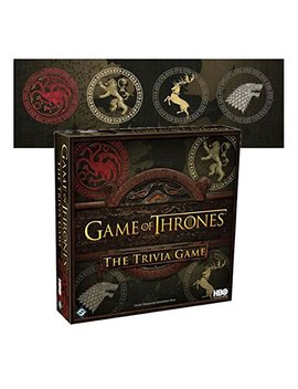 New Game Of Thrones The Trivia Board Game Westeros Hbo Ed Tv Strategy Fun Chop Xmas Gift by Unbranded