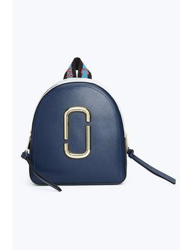 Logo Strap Pack Shot Backpack by Marc Jacobs