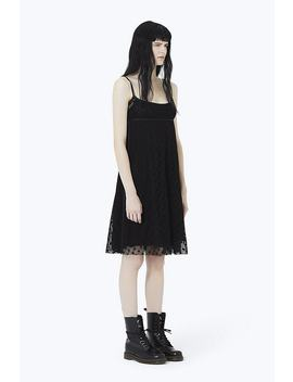 Embroidered Empire Waist Strap Dress by Marc Jacobs