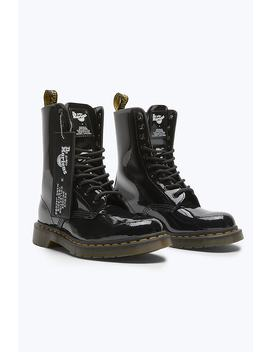 Dr. Martens X Marc Jacobs Patent Leather Boot by Marc Jacobs
