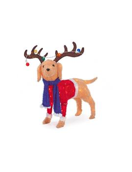 40 In. Christmas Warm White Led Dog by Home Accents Holiday