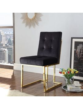 Pierre Black Velvet Dining Chairs Set Of 2 by Pier1 Imports