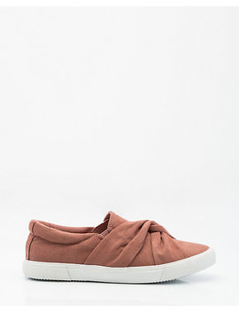 Knotted Slip On Sneaker by Le Chateau