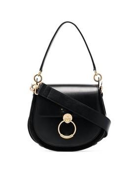 Tess Black Leather Cross Body Bag by Chloé