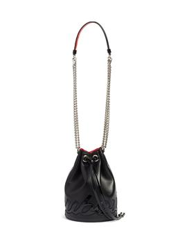 Marie Jane Calfskin Bucket Bag by Christian Louboutin