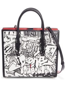 Medium Paloma Paris Leather Tote by Christian Louboutin