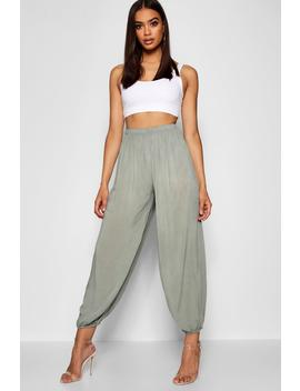 Lightweight Viscose Jogger by Boohoo