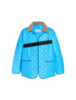 Oversized Quilted Jacket by Maison Margiela