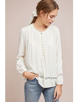 Jocelyn Pintucked Blouse by Daniel Rainn
