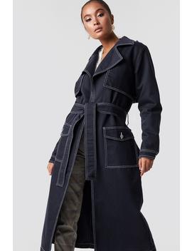Oversized Denim Coat by Na Kd Trend