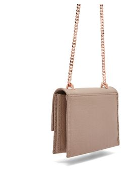 Juliah Concertina Mini Leather Cross Body Bag by Ted Baker