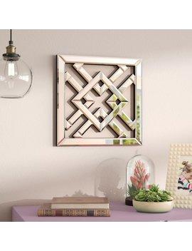 House Of Hampton Geometric Mirrored Wall Décor by House Of Hampton