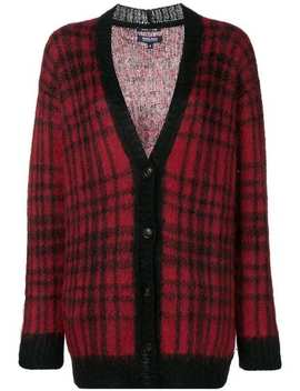 Check Pattern Cardigan by Woolrich