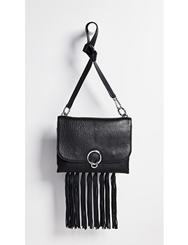Isabel Large Shoulder Bag With Fringe by Rebecca Minkoff