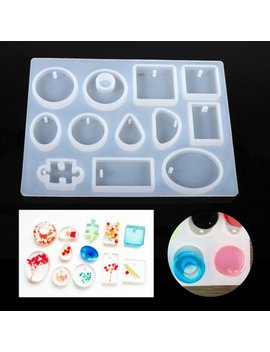1 Pc Diy Silicone Pendant Mold Jewelry Resin Mould Handcraft Ornament Making Tools Hot, Silicone Resin Mold, Jewelry Making Mold by Filfeel