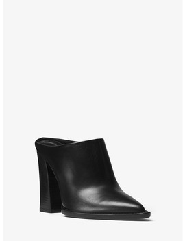 Bond Leather Mule by Michael Kors Collection