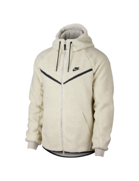 Nike Sherpa Full Zip Windrunner Jacket by Nike