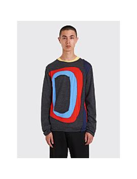 Comme Des Garçons Shirt Color Block Sweater Grey by Très Bien