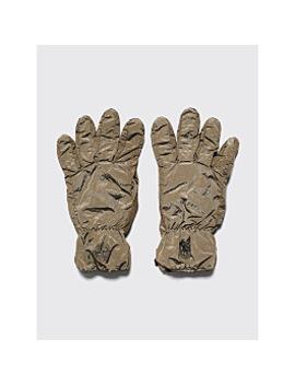 Stone Island Nylon Metal Gloves Olive by Très Bien