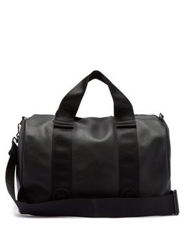 Leather Weekend Bag by Maison Margiela