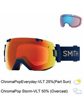 Smith Optics Goggles Adult I/Ox Interchangeable Navy Camo Cp Red Il7 by Amazon