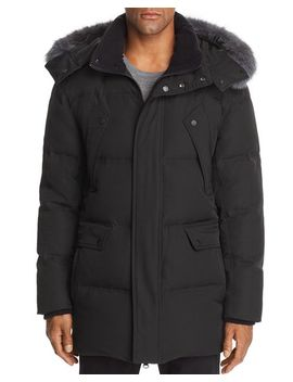 Belmont Fox Fur Trimmed Quilted Parka by Andrew Marc