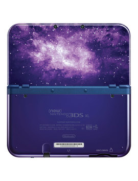 New Nintendo 3 Ds Xl Galaxy Edition   Blue by Best Buy