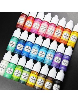 24 Colors 10ml Liquid Resin Pigment Dye Uv Resin Epoxy Resin Diy Making Crafts Jewelry Accessories by Etsy