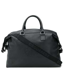Logo Embossed Large Holdall by Dsquared2