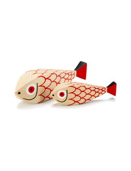 Girard Mother Fish Set Of 2 Wooden Figures by Vitra