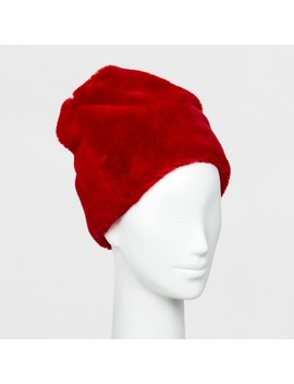 Women's Faux Fur Beanie   Wild Fable™ by Wild Fable